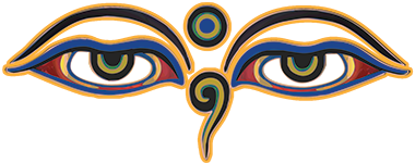 Satkar, the eyes of buddha